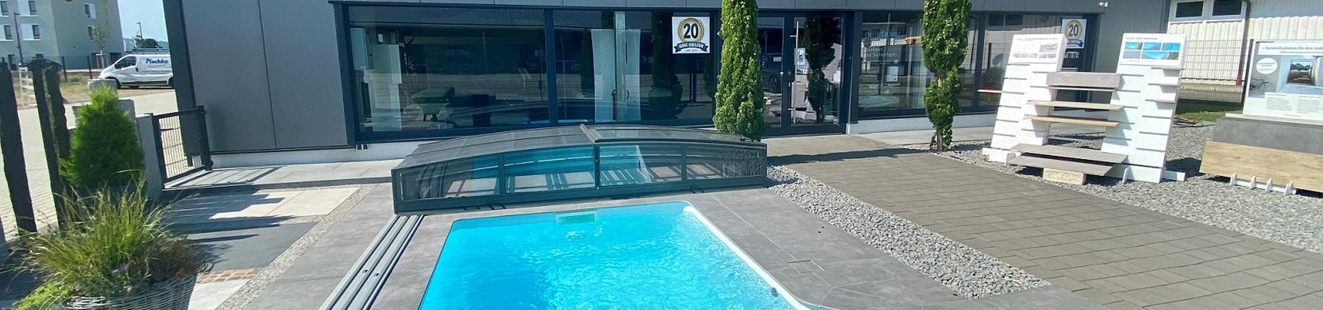 Ausstellungsräume Pischke Pool-Center in Ettenheim
